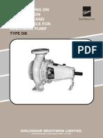 Centrifugal Pump Givaudan EFFC1d01