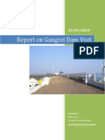 Report On Gangrel Dam Visit