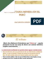 Tributacion Minera en El Peru