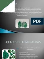 Exportación de esmeraldas