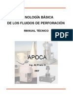 TECNOLOGÍA APLICADA A LOS FLUIDOS DE PERFORACION PDF