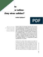 Anibal Quijano El Laberinto de America Latina