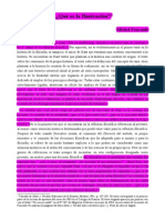 53350165 Michel Foucalt Que Es La Ilustracion Un Course Inedit