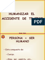 Humanizar El Accidente de Trafico