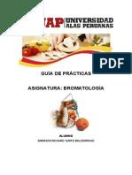 Guía de prácticas de Bromatología I