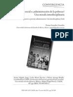 Desarrollo social o administración de la pobreza