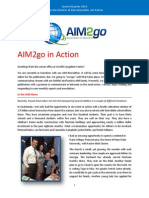 AIM2go in Action Second Quarter 2014 Revised