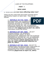 Chan Pre Week Bar Exam Notes on Labor Law