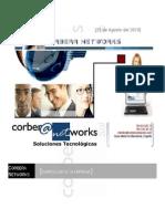 Currículum de Corbera Networks (actualmente The Integral Management Society)V.5.3