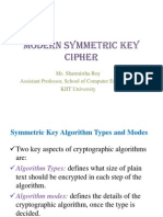 Modern Symmetric Key Cipher