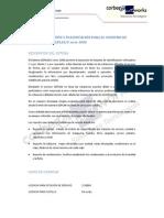 Condiciones de Servicio GEPLAN_C Serie 1000 Corbera Networks (actualmente The Integral Management Society)