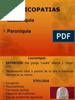 Onicopatias