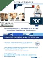 Vinculación empresas TIC entre España y México promocionada por Corbera Networks (actualmente The Integral Management Society)