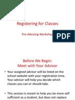 registering for classes s14