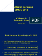 ANALISIS SIMCE 2012