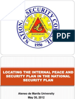 Ipsp and National Security