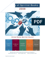 USSC Catalog of Spiritist books 2009