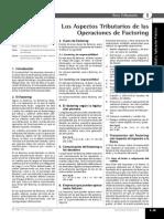 Operaciones de Factoring