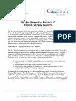 six strategies for teachers of english language learners
