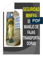 Seguridad Fajas Transportadoras