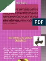 1.3 Materiales Organicos e Inorganicos