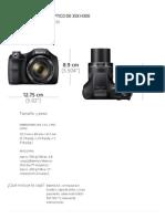 Camara _ DSC-H300 _ Cyber-shot™ _ Sony.pdf