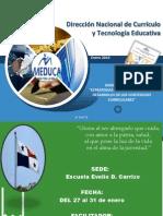 1- SEMIARIO Especialidades2014. DÍA 1