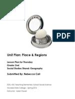 EDEL453 Spring2014 RebeccaCALL Unit Plan Thursday