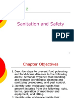 Day 1 Sanitation.safety