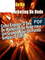 A Explosão do Marketing de Rede