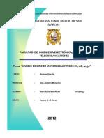 Informe II - Automatizacion - Inversion de Giro de Motores 1,3 y Dc Sin Pasar Por Paro