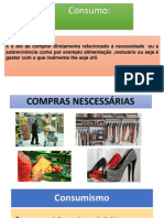 Consumo e Consumerismo