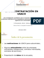 Usach Informe Final 20032014