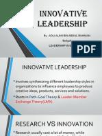 Innovative Leadership for Presentation