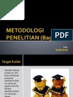 Mpk Kuliah- METOLIT - 2012 S1