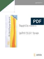 Sartorius -Product Range 2005-A