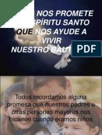 JESÚS NOS PROMETE AL ESPÍRITU SANTO QUE NOS