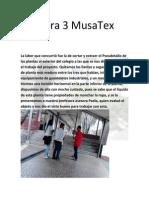 Bitácora 3 MusaTex