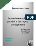 Las Concepciones de Piaget y Vigotsky 2009 ALBERTO LABARRERE (1)