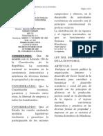 ley del sector social de la economia hondureña