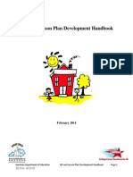 4 03 02 iep and lesson plan development handbook - schoolhouse document