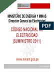 01 Nuevo Codigo Nacional de Electricidad- Suministro 2011
