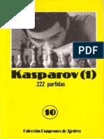 10 - Campeones de Ajedrez - Kasparov (1)