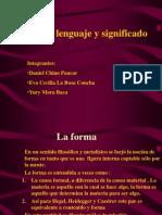 Forma, Lenguaje y Significado