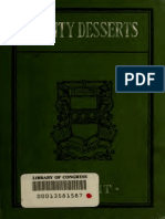 Dainty Desserts - A Large Collection of Recipes for Delicious Sweets and Dainties (1922)