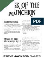 Munchkin Mask