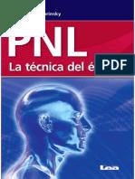 PNL - PNL La técnica del éxito - Merlina de Dobrinsky