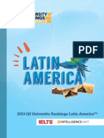 2013 QS Latin American Supplement English