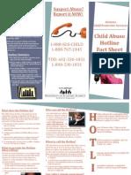 hotline factsheet 2012