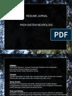 resume jurnal pada sistem neurologi